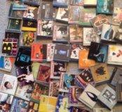 CD диски много !