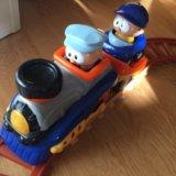 Детская железная дорога и поезд