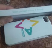 Чехол для Apple iPhone 5/5s (белый)