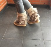 Зимние сапоги с мехом