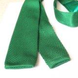 Вязаный галстук новый
