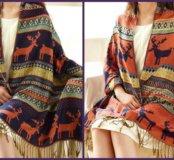 Новые палантины высочайшего качества 195x70см шарф