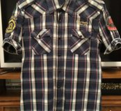 Мужская рубашка Colins размер M короткий рукав