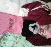 Пакет вещей для девочки на рост от 116