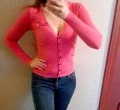 кофта розовая