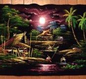 Картина из Тайланда ручной работы