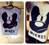 Новая футболка с Микки