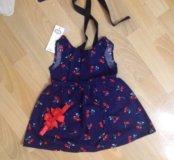 Новое платье с вишенками