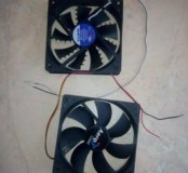 Два рабочих вентилятора