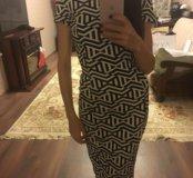 Платье  по фигуре zara