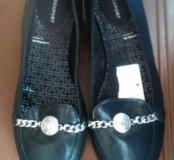 Туфли женские кожаные, новые