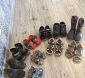 Обувь детская от 19-27 за все