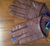 Продам новые супер перчатки автоледи. Кожа. 6,5р.