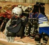 Продам хоккейную форму!