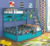 Кровать Радуга