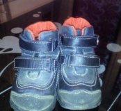 Детские ботиночки весна