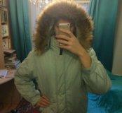 Куртка с енотом