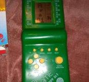 Тетрис зеленый Brick Game 9999 in 1