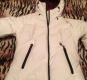 Зимняя белая куртка Quechua