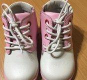 Весенние ботиночки для девочки, 22 размер