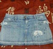 Джинсовая юбка TRF