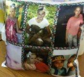 Подушки с вашим фото