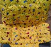 Чехлы на стульчики для кормления пошив