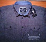 Рубашка Jack & Jones р.48,новая. Банглодеш.