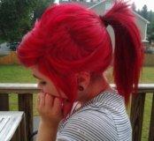 Красная краска для волос Estel