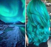 Бирюзовая краска для волос Estel
