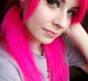 Розовая краска для волос Estel