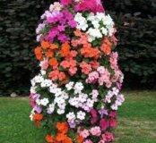 Цветочная башня для сада и клумбы.