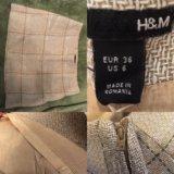 Мини-юбка H&M размер XS