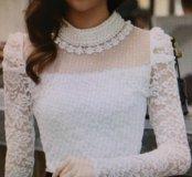 Блуза новая белая