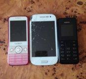 Продам на восстановление телефоны