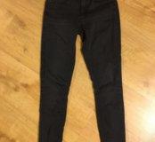 Чёрные штаны/джинсы topshop