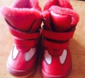 Ботинки 25р, теплые