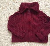 Кофта, свитер на молнии детская, новая