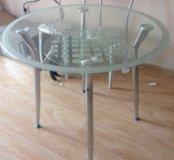 Стеклянный стол новый