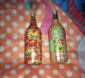 Бутылки ручная работа