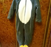 "Тёплая пижама ""Пингвиненок"""