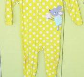 Пижама флисовая Carters