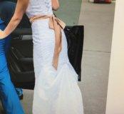 """Свадебное платье """"Шарлин"""" силуэта 'рыбка'"""