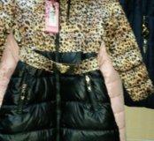 Пальто для девочек НОВОЕ