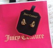 Серьги juicy couture