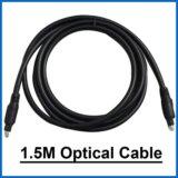 Оптический аудио кабель 1.5м
