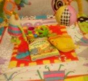 Коврик taftoys+ игрушки+круг