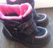 Ботинки Рейма-тек зимние для девочки