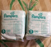 Pampers Active Baby-Dry 5 Magical Pods 29 шт