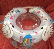 Круг для плавания новорожденных Flipper